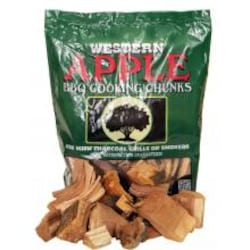 Western Apple BBQ Cooking Chunks (1/3 Cu. Ft.) image