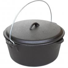 Cajun Cookware 9-Quart Seasoned Cast Iron Dutch Oven - GL10488S