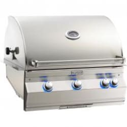 Fire Magic Aurora A660i 30-Inch Built-In Natural Gas Grill With Analog Thermometer And Rotisserie - A660i-6EAN image