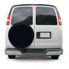 Classic Accessories Universal Spare Tire Cover - Black - Large