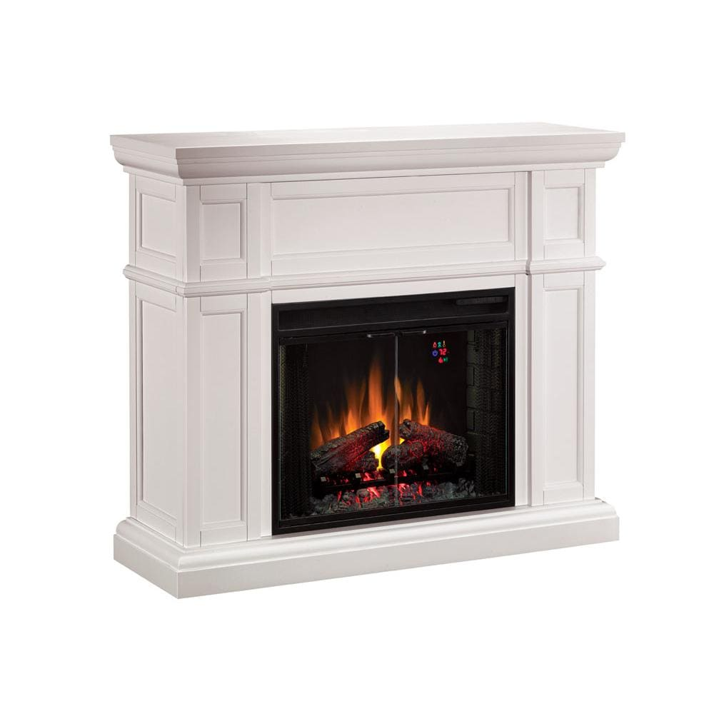 ClassicFlame Artesian 52-Inch Electric Wall Mantel Fireplace With ...