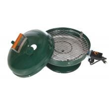 Meco Lock-N-Go Portable Electric BBQ Grill - Green - 2120 Heating Element and Cooking Grid