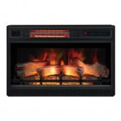 ClassicFlame Spectrafire 26-Inch 3D Infrared Quartz Electric Fireplace Insert with Safer Plug and Safer Sensor - 26II042FGL image