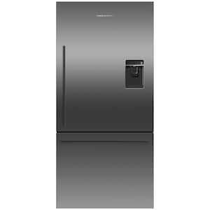 Fisher Paykel ActiveSmart 17.1 Cu. Ft. Refrigerator With Water Dispenser - Black Stainless Steel - RF170WDRUB5 image