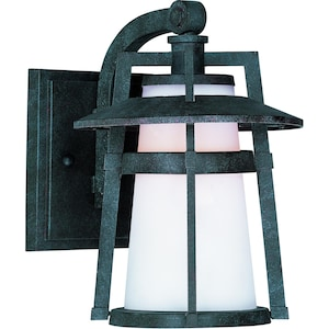 Maxim Calistoga One Light 10-Inch LED Outdoor Wall Light - Adobe - 88532SWAE image