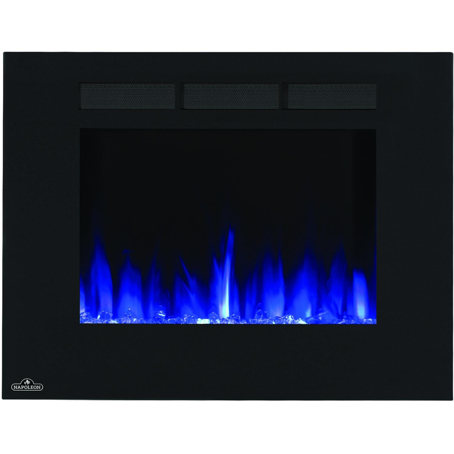 Create a home environment designed to make living easier with modern and contemporary electric fireplaces from Napoleon. Make a statement with this sleek system. The 32-inch Allure electric fireplace features reliable high power LED technology with realis