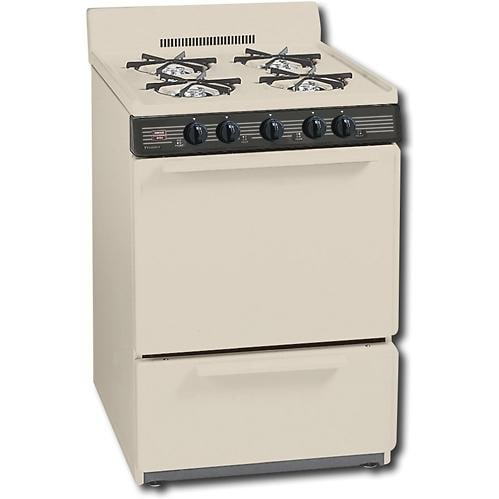 Premier Gck100t 24 Inch Freestanding Gas Range With 4 Inch