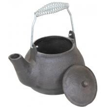 Cajun Cookware 1 Quart Cast Iron Tea Kettle