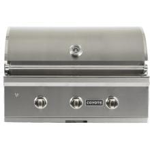 Coyote C-Series 34-Inch 3-Burner Built-In Natural Gas Grill - C1C34NG