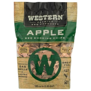 Western Apple BBQ Smoking Chips (180 Cu. In.) image