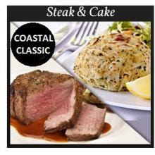 Steak & Cake - 4 (6oz) Filet Mignons & 4 (4oz) Crab Cakes By Chicago Steak Company image