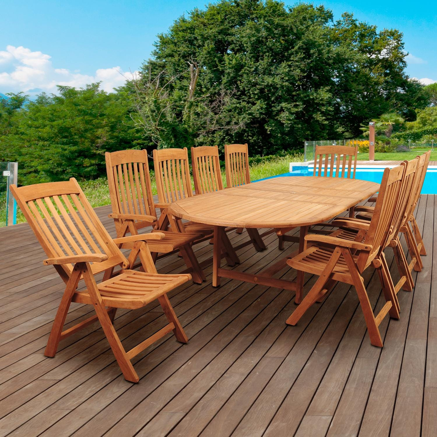 Teak Patio Dining Sets Home Design Ideas and