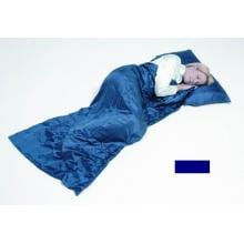 Grand Trunk Sleep Sack, Navy Silk Sleep Sack, Single