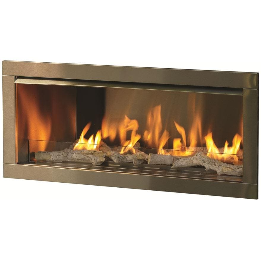 Firegear OD42 42 Inch Propane Gas Outdoor Fireplace Insert ...