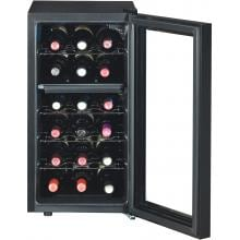 Baxter 70-Inch Electric Fireplace Media Console And Wine Cooler - Empire Cherry - 26TF2322 Baxter 26TF2322 Dual Zone Wine Cooler