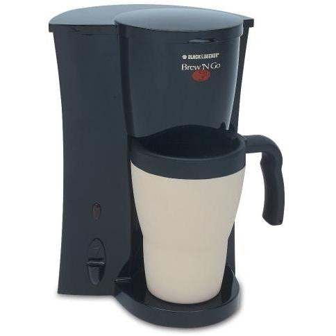 Black And Decker Coffee Maker Brew N Go : Black & Decker DCM18 Brew N Go Personal Coffee Maker : Home Appliance Center