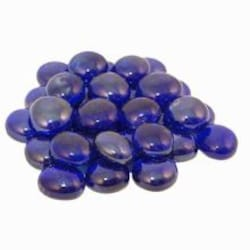 Peterson Real Fyre Sapphire Glass Gems - 10 Lbs image