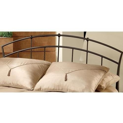 Hillsdale Vancouver Antique Brown Metal Headboard Without Frame - Twin - 1024-340