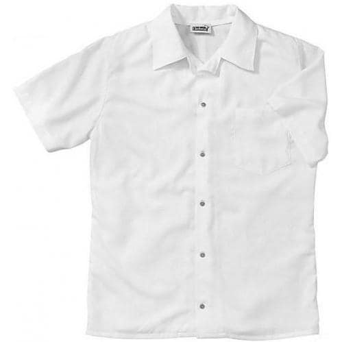 Chefwear Bamboo Short Sleeve Shirt XL - White