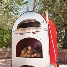 Alfa Forno Pizza And Brace Wood Burning Pizza Oven On Cart