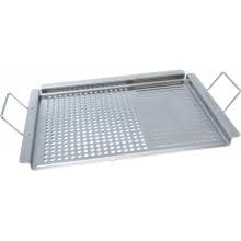 Man-Law 12 X 20 Inch Stainless Steel BBQ Grill Topper