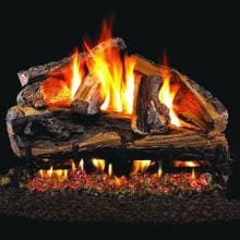 Peterson Real Fyre 18-Inch Rugged Split Oak Gas Logs (Logs Only - Burner Not Included) image