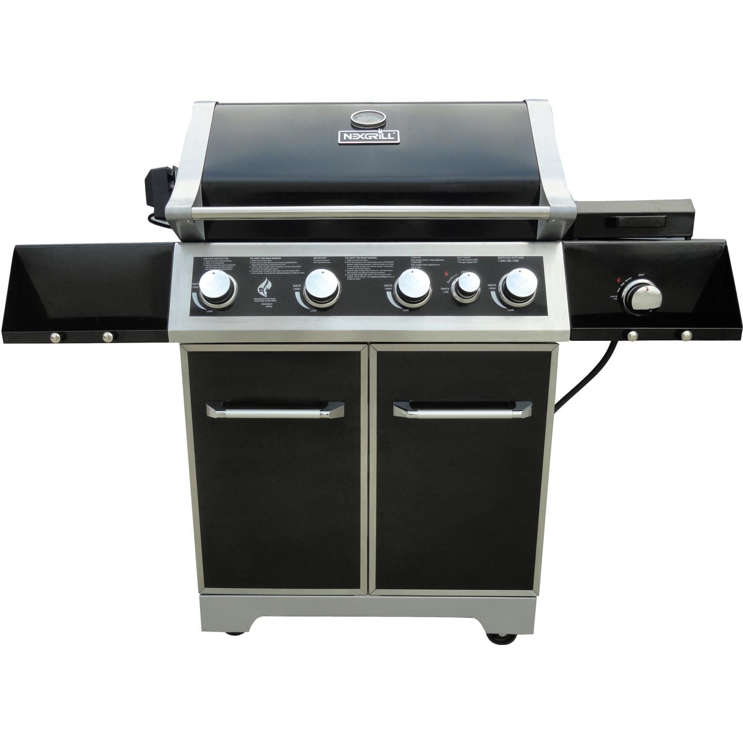 Nexgrill 30 Inch 4 Burner Natural Gas Grill On Cart With