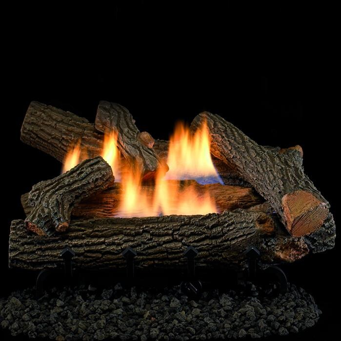Superior Fireplaces 24-Inch Crescent Hill Gas Logs With V...