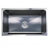 Blanco Magnum Large 30 X 18 18-Gauge Single Bowl Stainless Steel Apron Undermount Sink - 440296