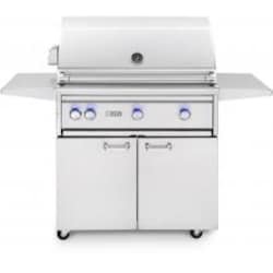 Lynx Professional 36-Inch Natural Gas Grill With One Infrared Trident Burner And Rotisserie - L36TRF-NG image