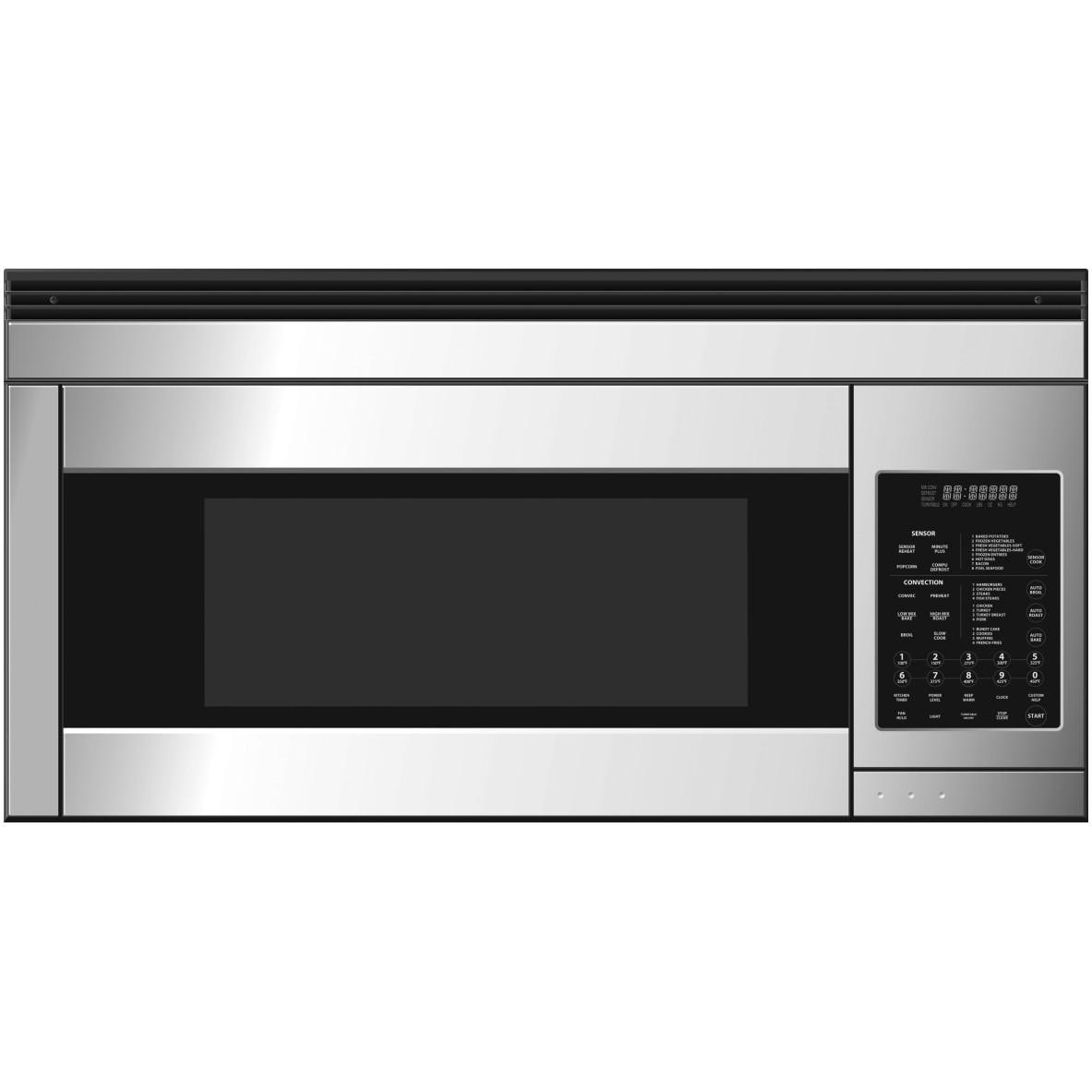 Dcs Microwave Convection Oven: DCS 30-Inch 850-Watt Over-The-Range Convection Microwave