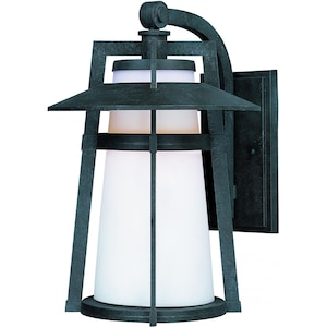 Maxim Calistoga One Light 12-Inch LED Outdoor Wall Light - Adobe - 88534SWAE image