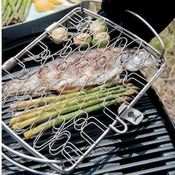 Weber 6470 Original Small Stainless Steel Fish Basket