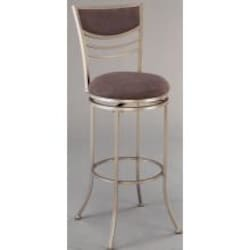 Hillsdale Amherst Champagne Colored Swivel Counter Stool - 4174-826 image