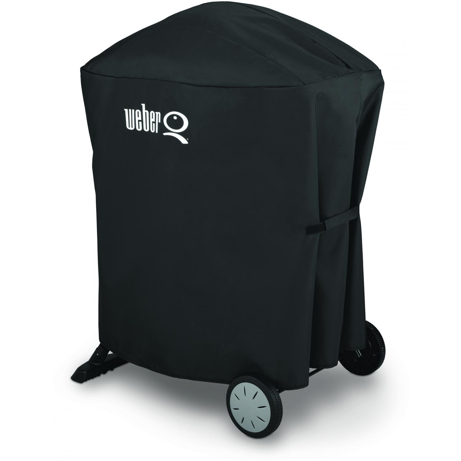weber 7113 premium grill cover with storage bag for q 100. Black Bedroom Furniture Sets. Home Design Ideas
