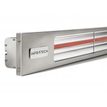 Infratech Slimline Series 63 1/2-Inch 4000W Single Element Electric Infrared Patio Heater - 240V - Silver - SL4024SV image