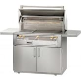 Alfresco ALXE 42-Inch Freestanding Propane Gas Grill With Rotisserie - ALXE-42C-LP