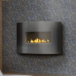 Gas Wall Fireplace Wall Mounted Gas Fireplaces Gas Log Guys