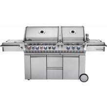 Napoleon Prestige Pro 825 Freestanding Natural Gas Grill With Infrared Rear Burner, Double Sear Burner And Side Burner - PRO825RSBINSS-2 image