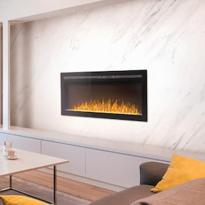 Napoleon Purview 60-Inch Wall Mount Electric Fireplace - NEFL60HI image