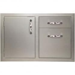 Artisan 32-Inch Access Door And Double Drawer Combo - ARTP-DDC image