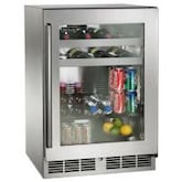 Perlick Signature Series 24-Inch 5.2 Cu. Ft. Right Hinge Outdoor Rated Beverage Center - HP24BO-3-3R