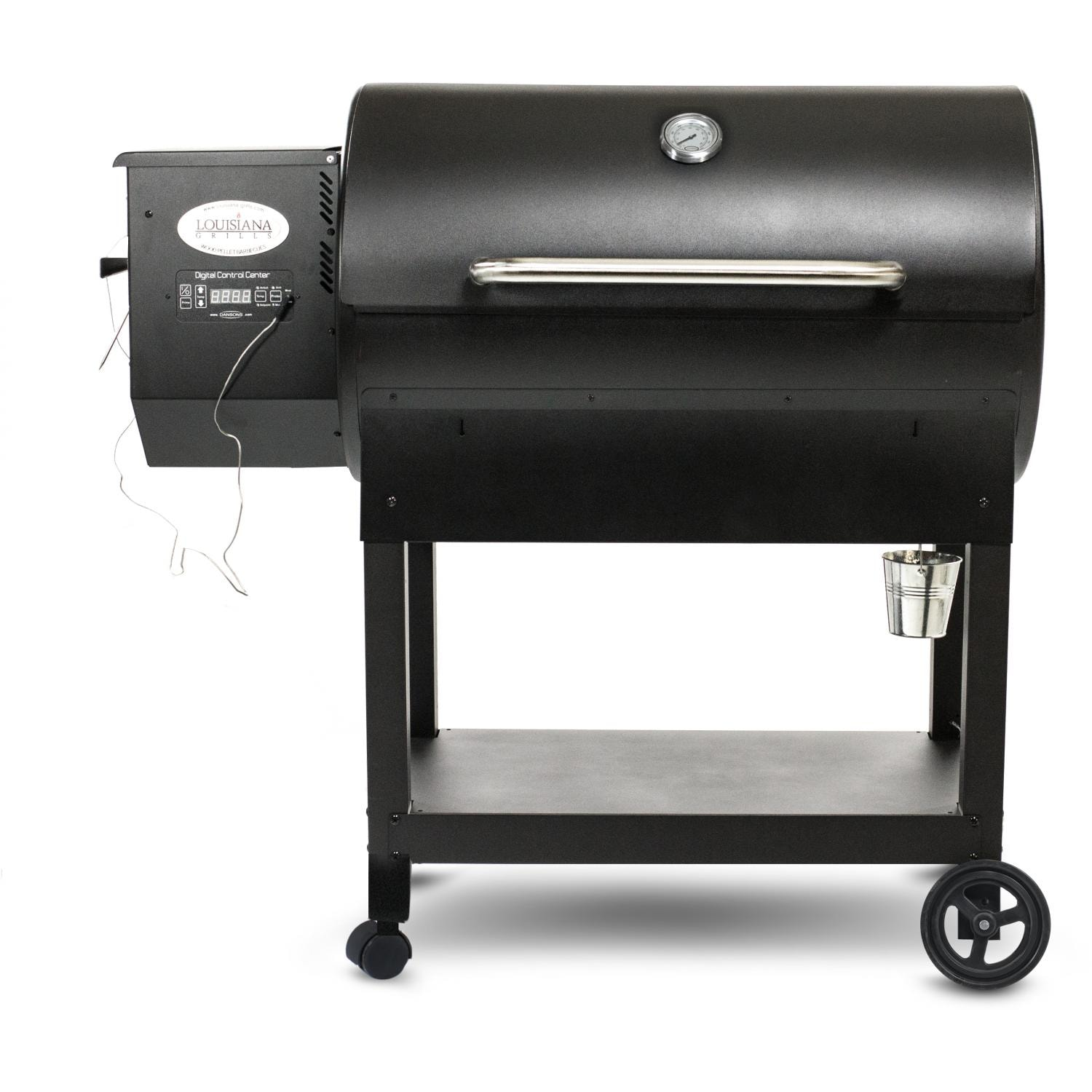 louisiana grills country smoker cs 570 pellet grill on cart bbq guys. Black Bedroom Furniture Sets. Home Design Ideas