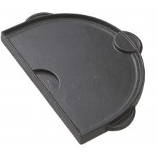 Primo Half Moon Cast Iron Griddle For Oval Junior Primo Half Moon Cast Iron Griddle For Oval Junior