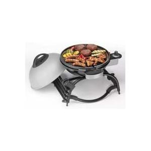 Attractive George Foreman Wheel It And Grill It Portable Propane Grill   Silver
