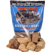Western Hickory BBQ Cooking Chunks