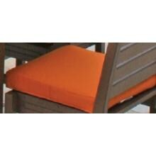 Eagle One Recycled Plastic Stacking Patio Chair Cushion - Canvas Macaw