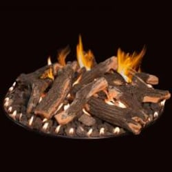 Grand Canyon 48-Inch Arizona Weathered Oak Round Fire Pit Log Set Only (Burner Not Included) - FPAWO-48 image