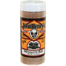 John Henrys Mesquite Rub Seasoning