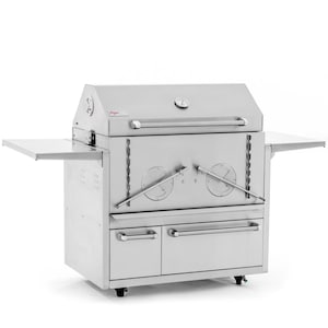 Cajun Grill Preaux 36-Inch Stainless Steel Charcoal Grill image